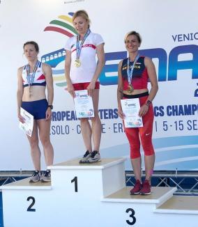 Dorina Korozsi a cucerit bronzul la Europenele de Atletism Masters de la Jesolo (VIDEO)