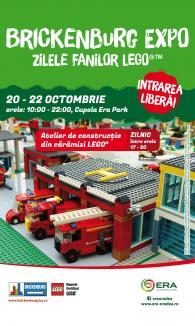 Zilele Fanilor LEGO: Centrul comercial ERA Park, invadat de constructii lego de mari dimensiuni!