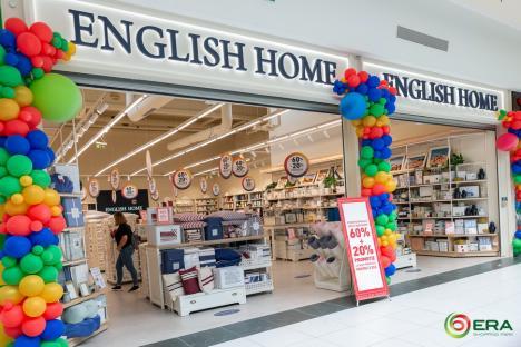 Primul magazin English Home din Oradea s-a deschis la ERA Park!