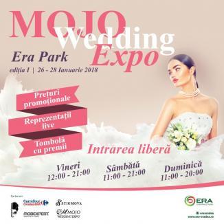 Îţi doreşti nunta perfectă? Vino la MOJO Wedding Expo, de la ERA Park Oradea, şi poţi câştiga un super mobilier de casă nouă!