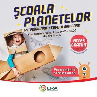 Şcoala planetelor revine la ERA Park Oradea!