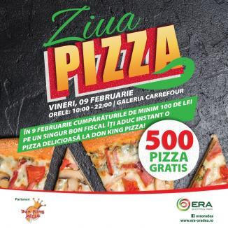Ziua Pizza, la ERA Park: Fă cumpărături de minimum 100 de lei şi câştigi pe loc un voucher de pizza!