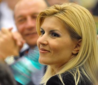 Elena Udrea, decepţionată de Traian Băsescu