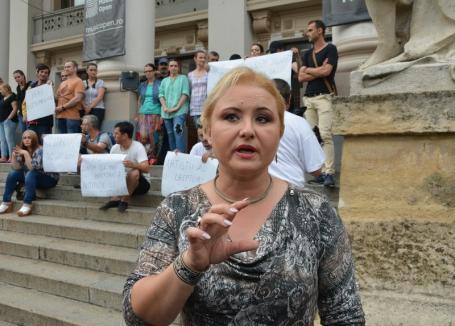 Elvira Rîmbu este noul director interimar al Teatrului Regina Maria din Oradea