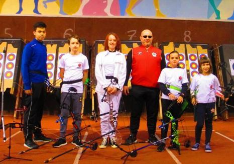 Locul 2, la primul concurs outdoor de tir cu arcul, pentru sportivul Eugenio Leabu, de la Redpoint Oradea