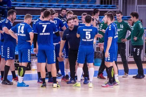 Handbaliștii de la CSM Oradea primesc replica echipei de primă ligă CSM Bacău, în Cupa României