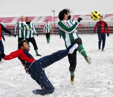 Prima înfrângere din 2011 pentru FC Bihor: 1-3 cu Ferencvaros (FOTO)
