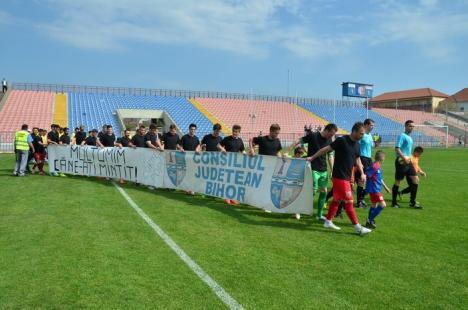 Înfrângeri pe toate planurile: FC Bihor a pierdut şi cu Caransebeşul, şi cu Consiliul Judeţean (FOTO)