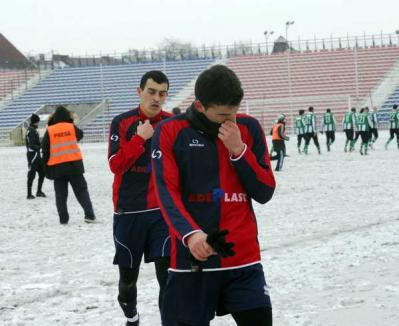 A dat gripa la FC Bihor: Ultimul amical e anulat
