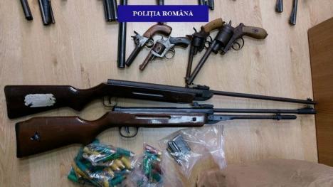 Celebrul chirurg orădean Alexandru Gălăţanu are un nou dosar penal. Poliţiştii i-au confiscat 17 puști și 4 pistoale! (FOTO)
