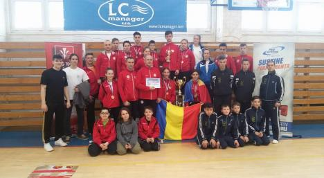 Cu ajutorul orădenilor, delegația României a dominat întrecerile Cupei Internaționale de Taekwon-do ITF din Slovacia