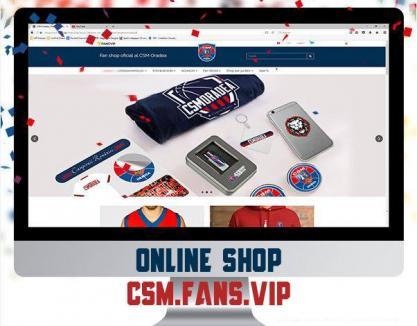 CSM CSU Oradea şi-a lansat fan shop-ul online