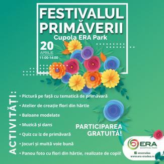 Festivalul Primăverii, sâmbătă, la ERA Park Oradea. Câștigă invitații la Circul Bellucci!