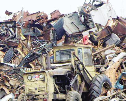 Amenzi de peste 100.000 de lei şi două tone de deşeuri metalice confiscate