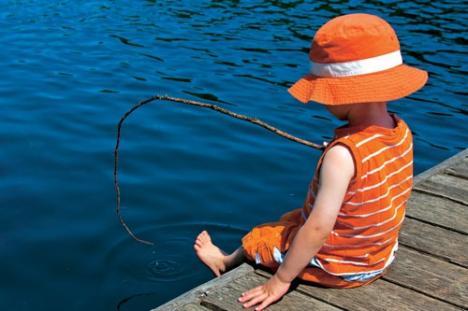 Concurs de pescuit pentru juniorii ecologişti