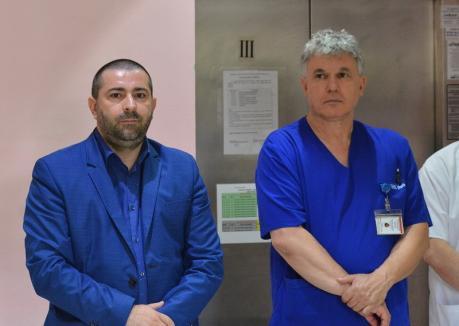 Bolojan, lămureşte-ne! Cine are dreptate la Spitalul Municipal Oradea? Managerul Foncea şi directorul medical Burtă se acuză reciproc