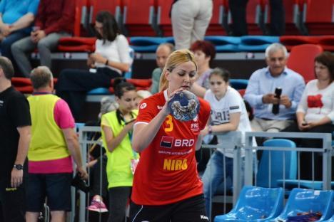 Atacanta noastră: Crescută în Ungaria, handbalista Gabriella Szücs, membră în echipa națională, consideră Oradea casa sa (FOTO)