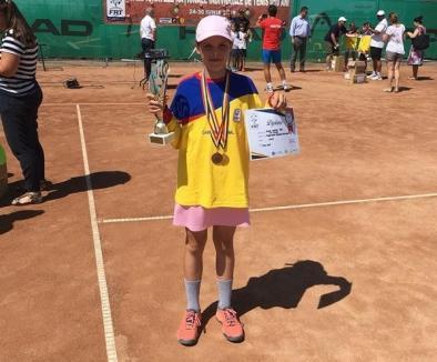 Clasări fruntaşe pentru sportivii de la CSM Oradea în ierarhiile FR Tenis