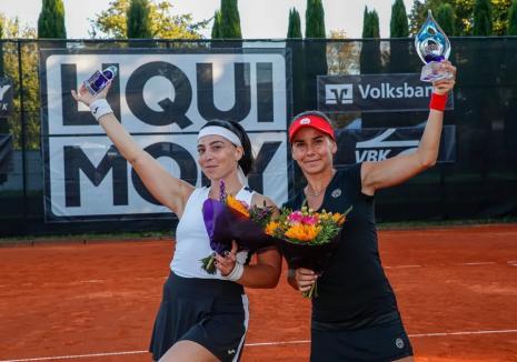 Irina Bara a câştigat proba de dublu a turneuluiWTA de la Karlsruhe (Germania)