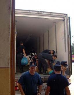 Alte două TIR-uri cu ajutoare au plecat spre Suceava