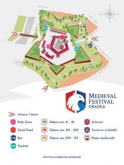 Vezi programul Festivalului Medieval de la Oradea!