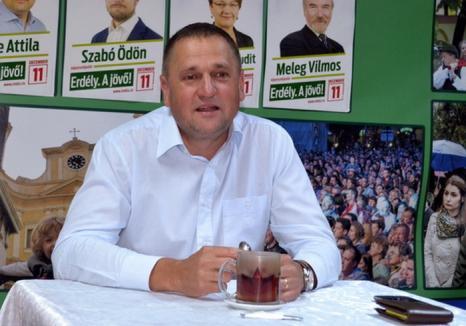 Fostul viceprimar UDMR Huszar Istvan şi-a dat demisia din Consiliul Local