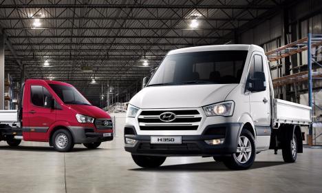 Hyundai H350 – eficienţă și performanţe dinamice (FOTO)
