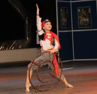Oradea are două campioane mondiale la showdance