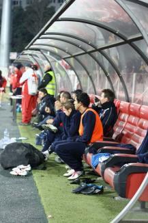 Orădenii au pierdut derby-ul cu UTA Arad (FOTO)
