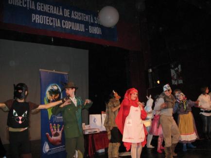 Întreceri culinare şi carnaval cu măşti pentru orfani