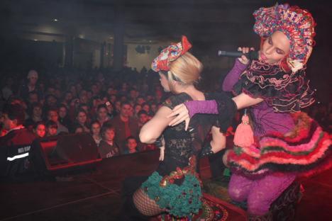 Orădenii s-au distrat cu Anna Lesko în ERA (FOTO)