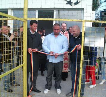 Terenul sintetic de la Stadionul Tineretului a primit botezul
