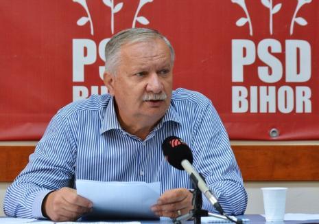 """Ioan Mang vrea un nou mandat de preşedinte al PSD Bihor: """"Cred că mai pot fi de folos, primarii îmi spun să candidez"""""""