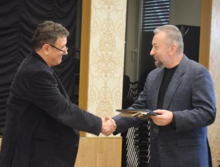 Ioan F. Pop a primit premiul pentru poezie al Uniunii Scriitorilor din România, Filiala Arad