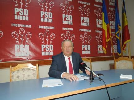 """Şeful PSD Bihor anunţă """"recolte-record"""" la absorbţia de fonduri UE: 12% din bani, adică 5,231 miliarde euro, intră în ţară până la finele anului"""