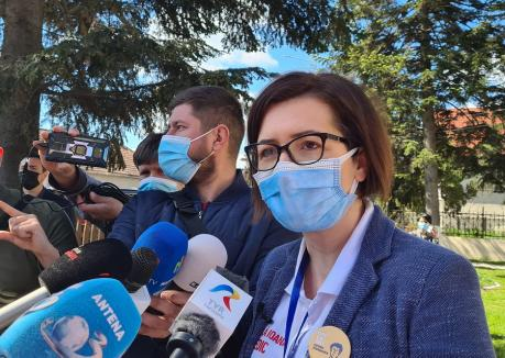 Ministrul Sănătăţii, Ioana Mihăilă: Cei care se vaccinează anti-Covid vor primi bonuri de masă de 100 de lei (VIDEO)