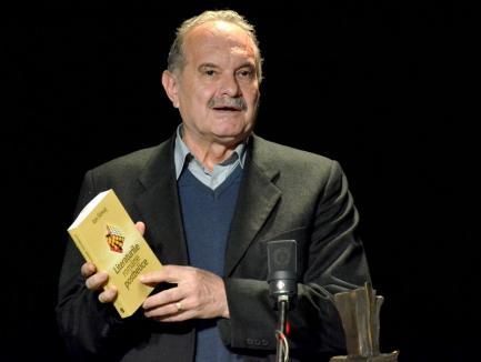 Orădeanul Ion Simuţ, laureat la Gala Premiilor Muzeului Naţional al Literaturii Române