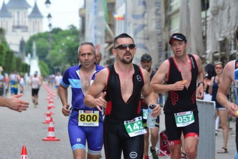 Ironman 2018: Cei mai puternici pasionați ai sportului s-au luat la întrecere în Oradea şi Paleu (FOTO / VIDEO)