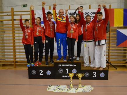 Orădenii de la King Do – Lions au contribuit la succesul României la Openul Ungariei la Taekwon-do ITF