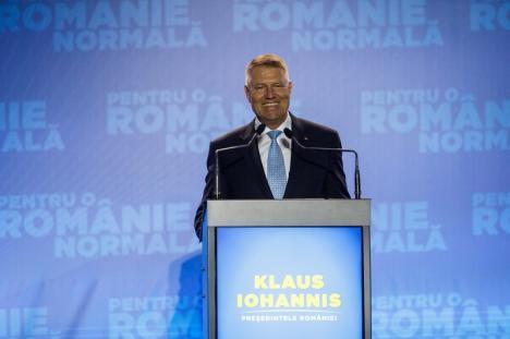 Principalele motive pentru a vota Klaus Iohannis - Preşedinte (FOTO)