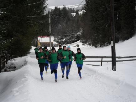 Sportivii de la LPS Bihorul şi-au încheiat pregătirea centralizată din această iarnă