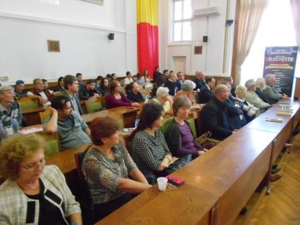 Să nu se mai repete! Volumul 'Auschwitz Alive – 70 de ani' a fost lansat la Primăria Oradea (FOTO)