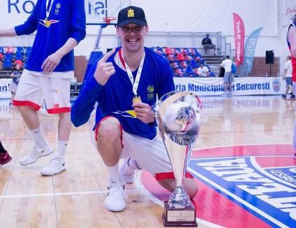 Laci Lazar va continua şi în sezonul următor la echipa de baschet CSM CSU Oradea