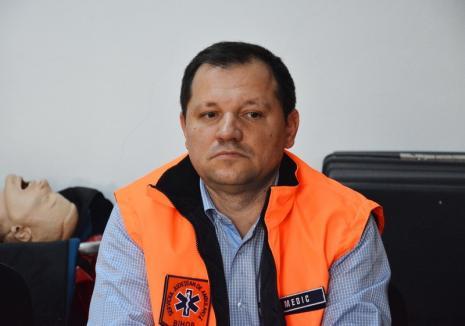 Dr. Liciniu Venter rămâne șef la Ambulanța Bihor