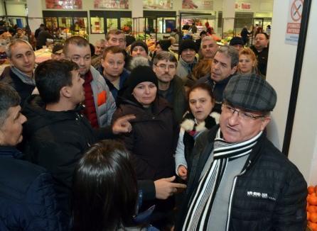 Bihorel: Andrica de la ADP s-a certat cu vânzătorii ca la piaţă