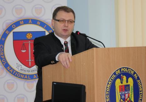 """Înalta Curte: Fostul șef al Poliției Bihor, chestorul Liviu Popa, achitat pentru corupție. Faptele """"nu există"""""""