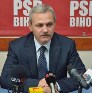 """Liviu Dragnea a venit în Bihor ca să """"compatibilizeze"""" PSD, PC cu PNL"""