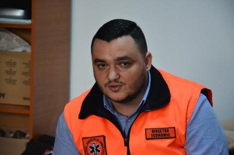 Deznodământ după concursul prin care PSD a preluat şefia Ambulanţei Bihor: Liviu Sabău Popa nu poate fi director adjunct economic!