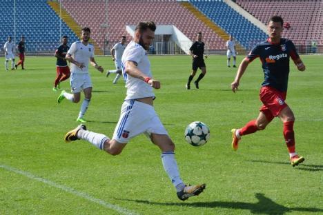 Revenire de bun augur: Luceafărul Oradea s-a impus cu 2-1 în jocul cu Chindia Târgovişte! (FOTO)