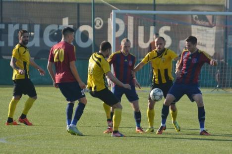 Luceafărul a pierdut cu 1-2 jocul de pe teren propriu cu FC Braşov (FOTO)